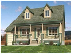 ... Country Cabin, Cottage And Farmhouse Plans And Building Kits At  BackroadHome.net
