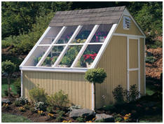 This Solar Shed is just one of over 100 shed designs available at Wayfair.com