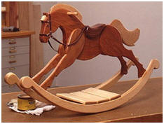 Childrens' Furniture, Rocking Horse and Wooden Toy Plans from WOOD Store.