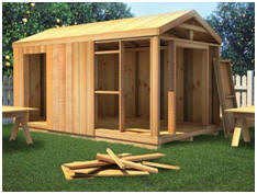 Learn how to build any type of shed with the illustrated, step-by-step guide from WOOD Store