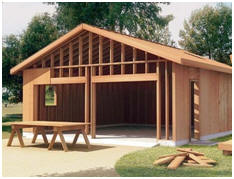 Free garage and carport building plans and do it yourself for Do it yourself garage plans