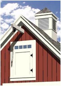 Free Small Barn Plans - Review dozens of construction plans for small vehicle barns, animal shelters, tractor sheds and backyard storage barns. Then print plans from your computer.