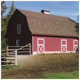 Gambrel Roof Barn Plans by Homestead Design