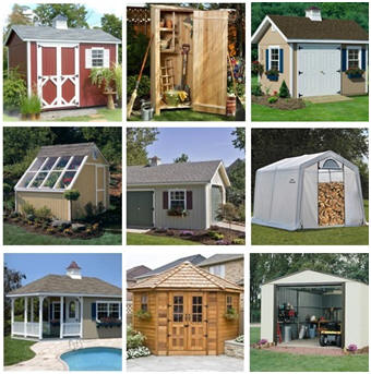Sheds, Sheds and More Sheds at Wayfair.com