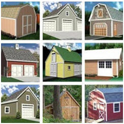 Instant Download Barn, Shed, Workshop and Garage Building Plans at BackroadHome.net