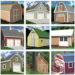 Instant Download Barn, Shed, Workshop and Garage Building Plans at BackroadHome.net
