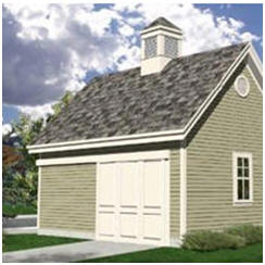 Small Pole-Barn and Pole-Frame Garage Plans