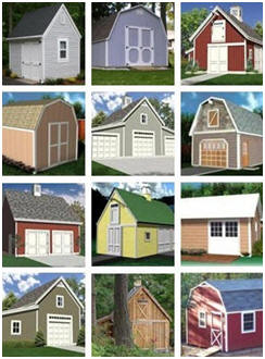 Download Shed, Garage, Small Barn and Workshop Building Plans - Get 100+ Designs, Sises and Layouts for Just $29