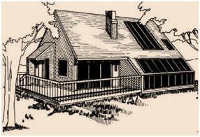 Free Passive Solar Home Designs for Western United States at BuildItSolar.com - Download any of twenty design studies for passive solar, super insulated and earth-bermed homes that were planned for construction in the West.