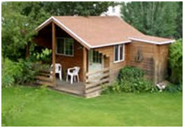 Free Cabin Blueprints -  Download free plans, by CabinsAndSheds.com, for building any of four attractive cabins.