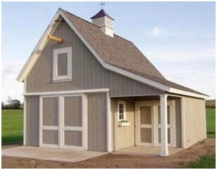 Cold Spring Barn Plans by Don Berg