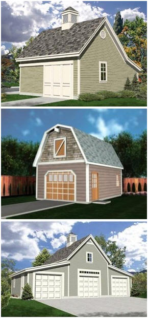 Download Dozens of Different Garage Plans - Get plans for one, two, three and four-car detached garages, garages with lofts abd workshops and big country-style car barns. The GarageBuilding101.com plan set costs just $29 and comes with a 60 day, money-back guarantee.