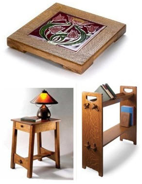 Free Arts & Crafts Style Furniture Project Plans: Classic Designs from Popular Woodworking Magazine
