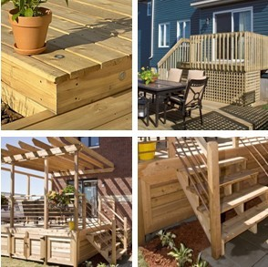 Free Do-It-Yourself Deck Building Guides from Rona.ca - Get great planning and building advice, and finishing guides to help you build a backyard deck or deck pergola.