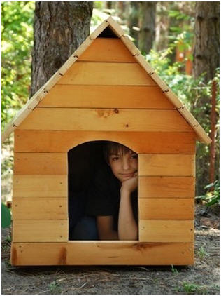 24 Free, Do It Yourself Dog House Plans - Build your own dog house from this selection of twenty-four different designs at ToolCrib.com
