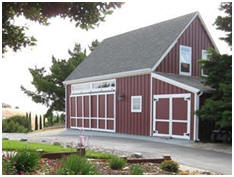Pole-Frame Barn, Garage and Workshop Construction Plans by Architect Don Berg