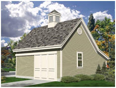 Free Plans for the Candlewood Mini-Barn and Garage