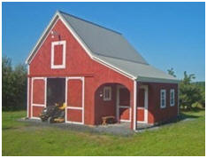 Mini Pole Barn Building Plans by Don Berg