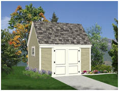 Free 10x14 Storage Shed Plans