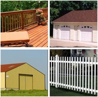 Design Your Own Custom Deck Garage Fence Or Barn